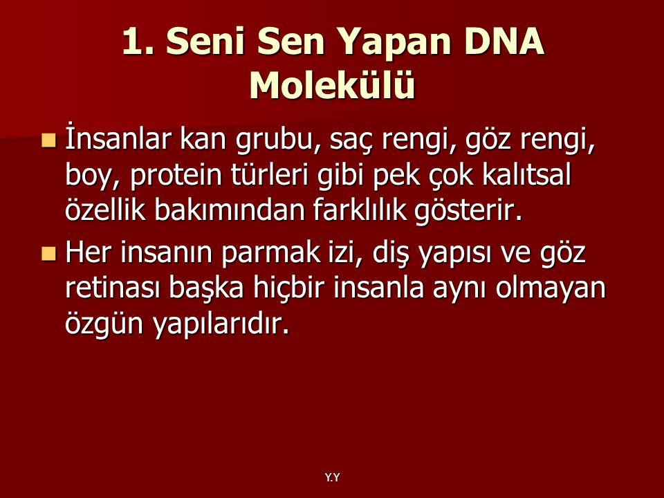 1. Seni Sen Yapan DNA Molekülü