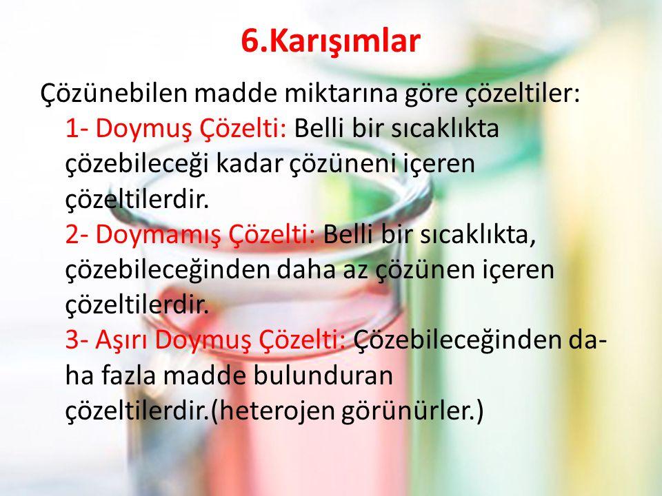 6.Karışımlar