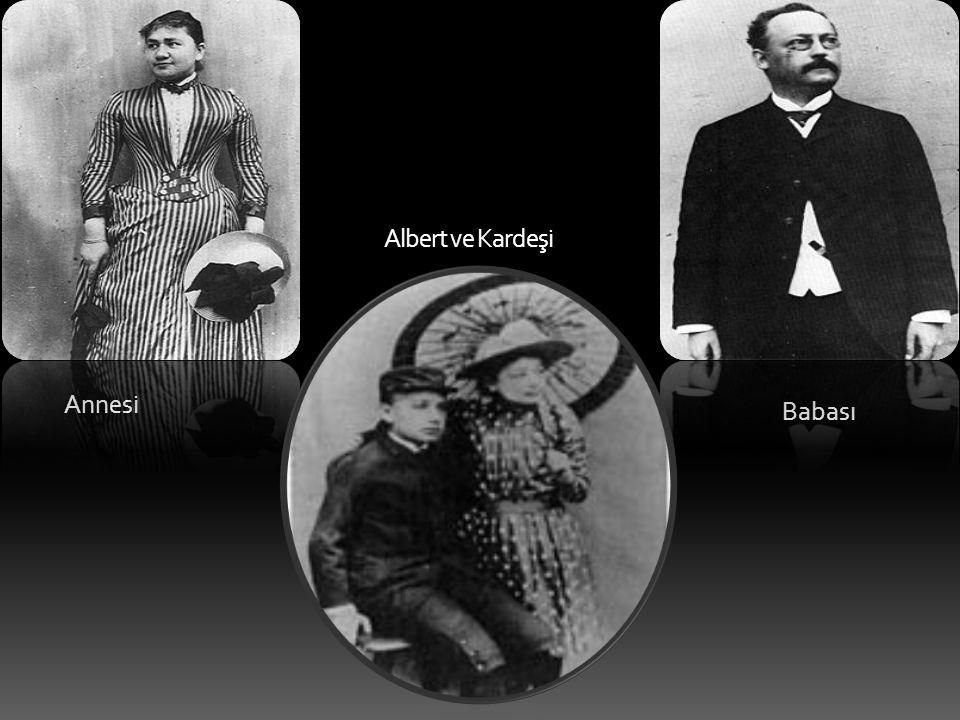 Albert ve Kardeşi Annesi Babası