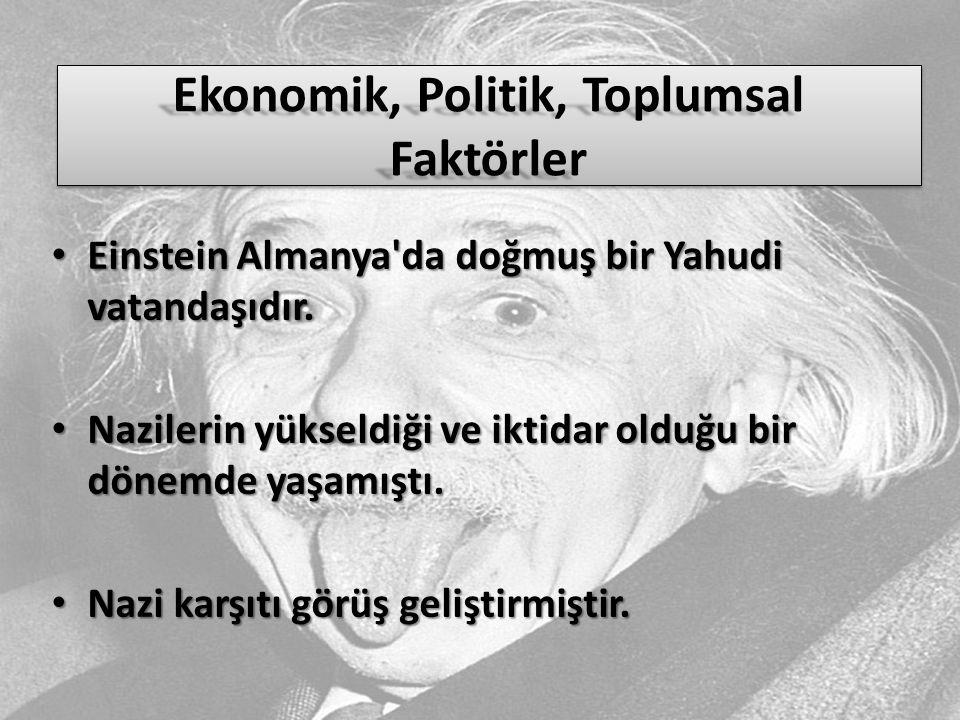 Ekonomik, Politik, Toplumsal Faktörler