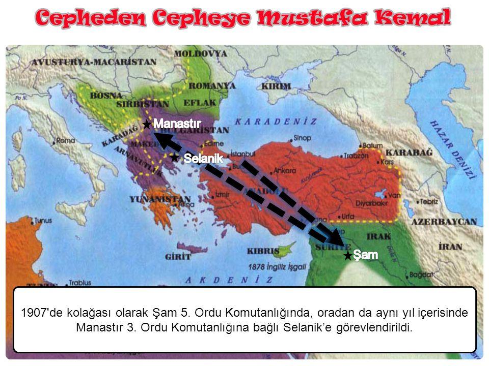 Manastır Selanik. Şam.