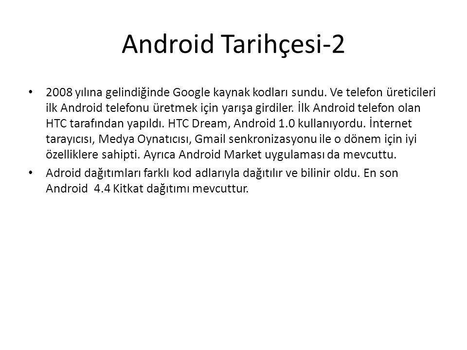 Android Tarihçesi-2