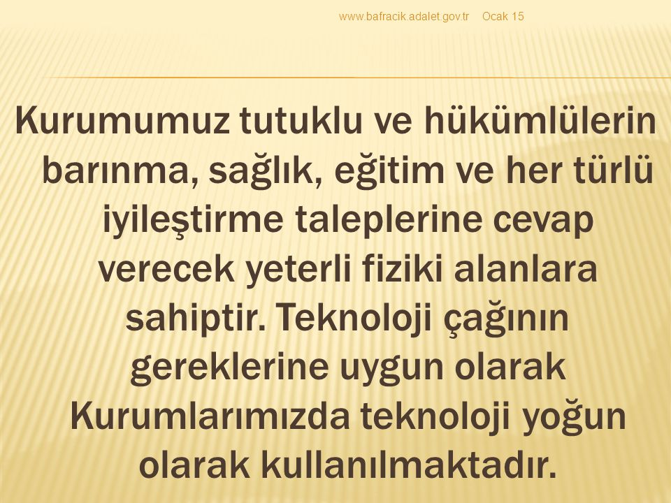 www.bafracik.adalet.gov.tr Nisan 17.