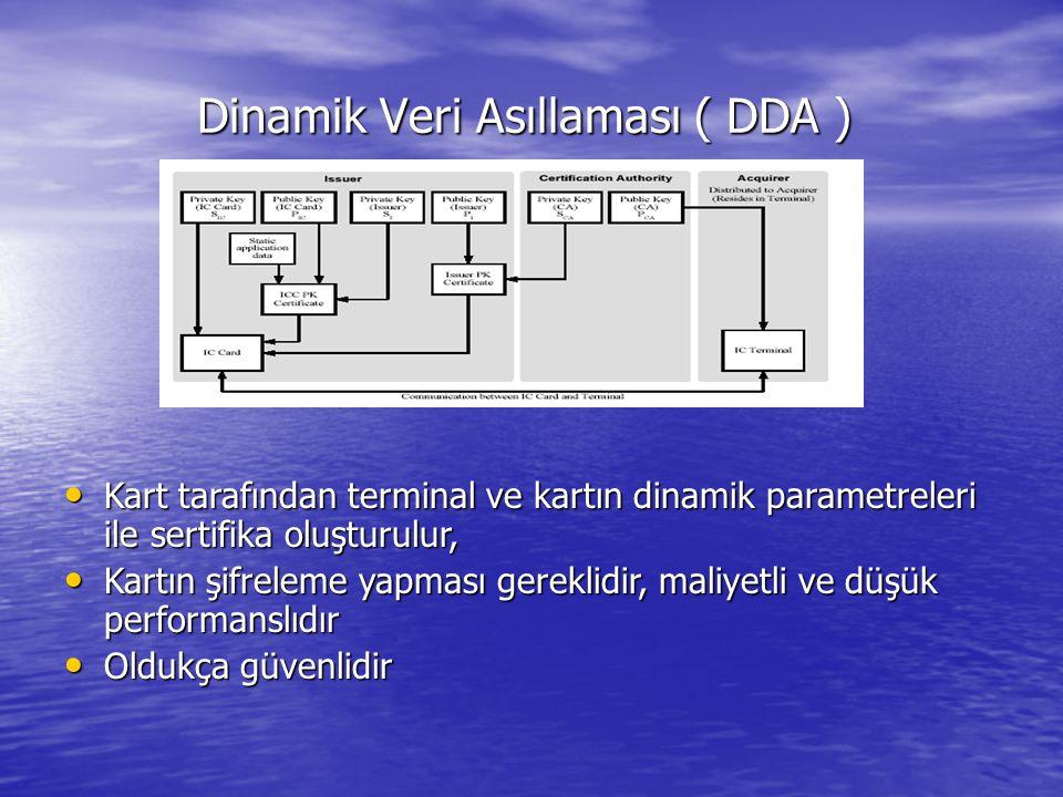 Dinamik Veri Asıllaması ( DDA )