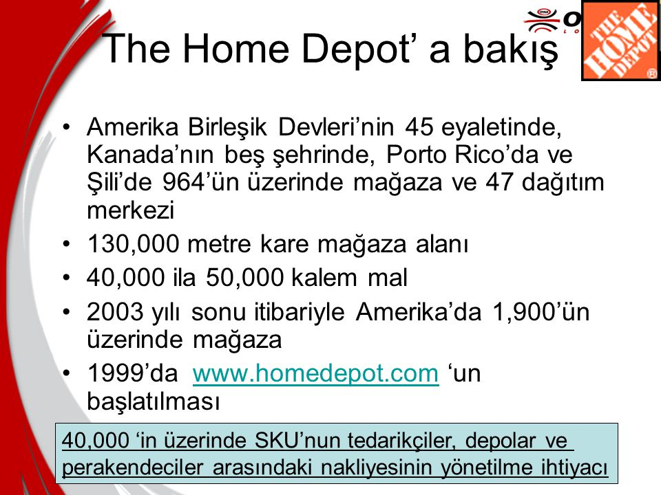 The Home Depot' a bakış