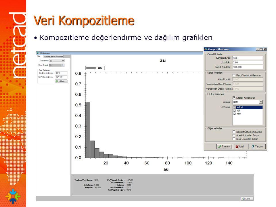 Veri Kompozitleme Kompozitleme değerlendirme ve dağılım grafikleri