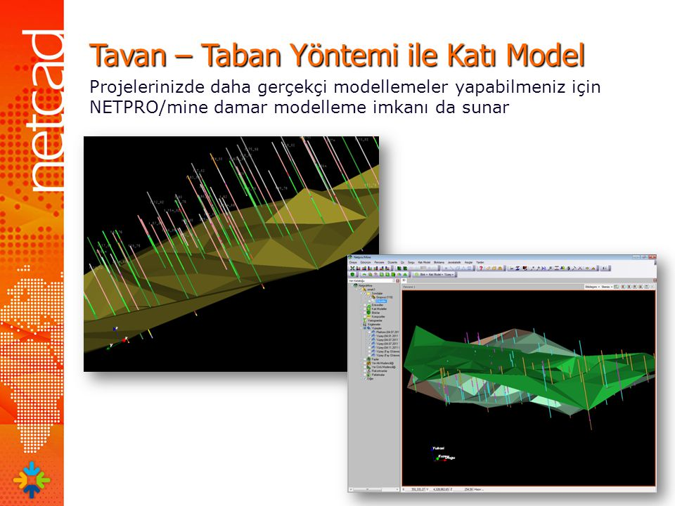 Tavan – Taban Yöntemi ile Katı Model