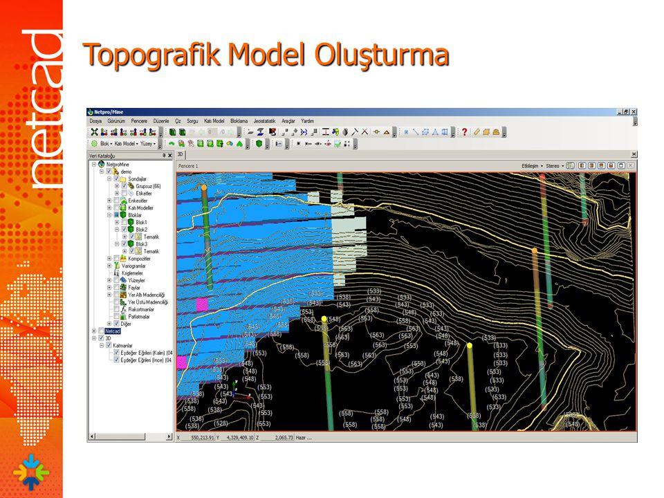 Topografik Model Oluşturma