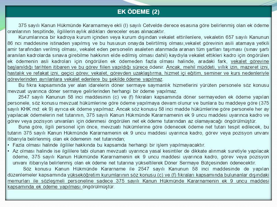 EK ÖDEME (2)