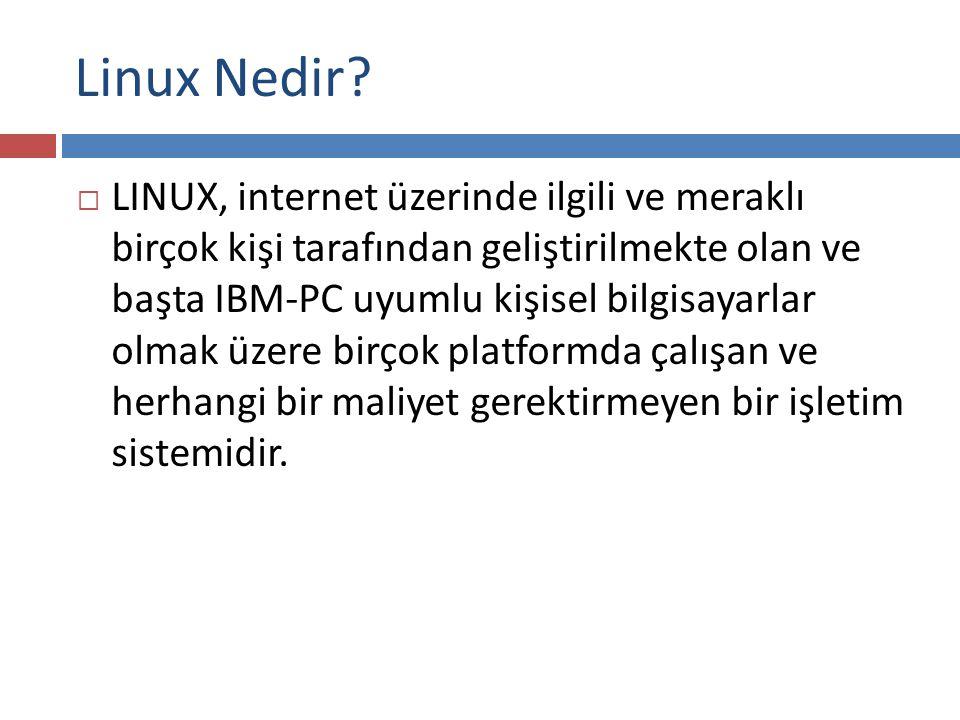 Linux Nedir