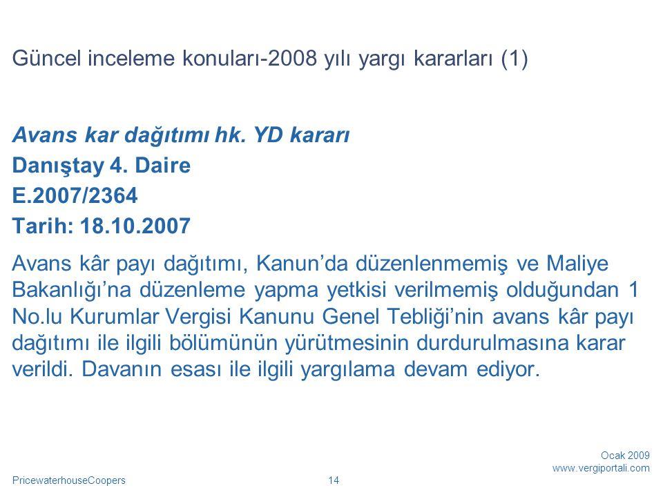 Güncel inceleme konuları-2008 yılı yargı kararları (1)
