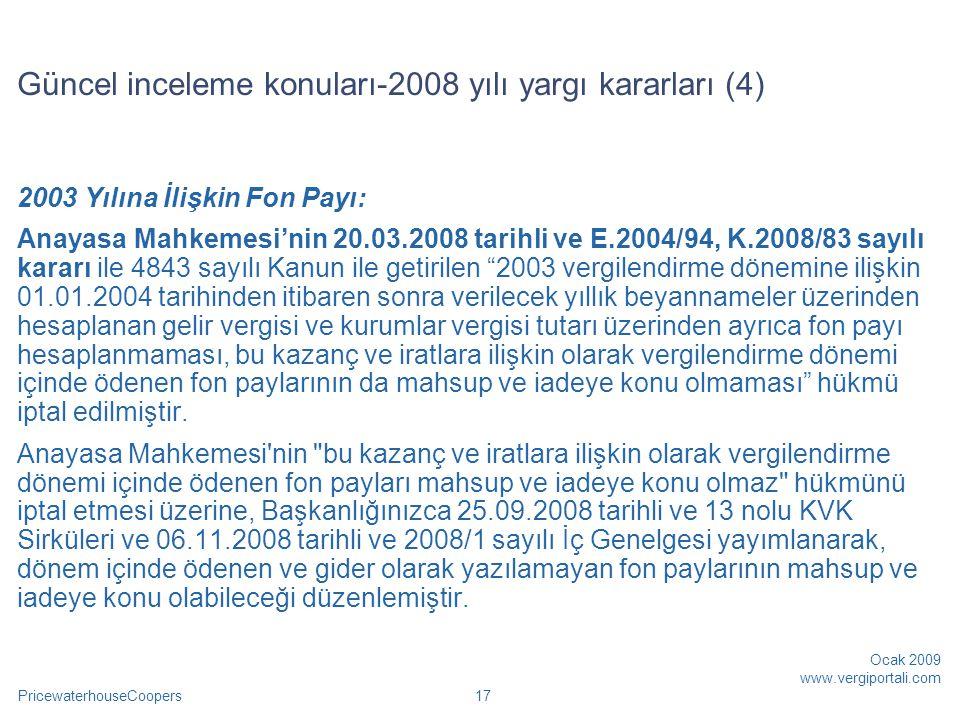 Güncel inceleme konuları-2008 yılı yargı kararları (4)
