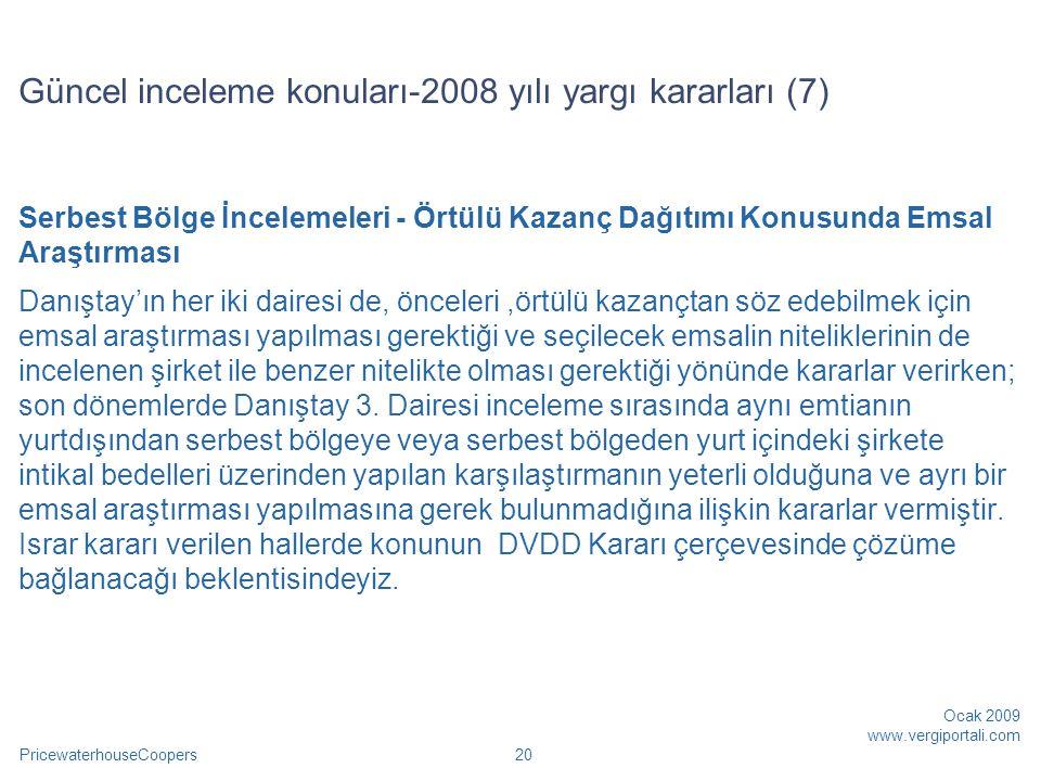 Güncel inceleme konuları-2008 yılı yargı kararları (7)
