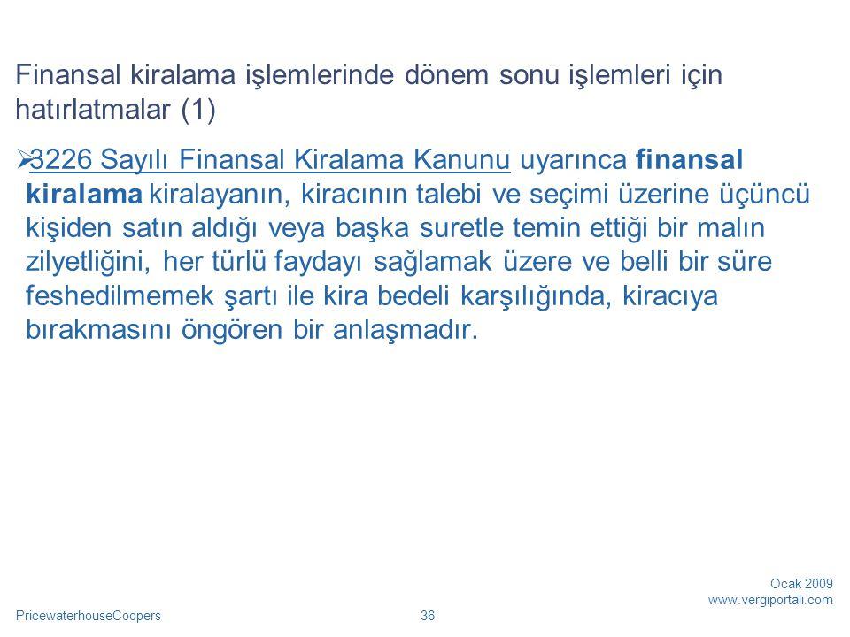 Finansal kiralama işlemlerinde dönem sonu işlemleri için hatırlatmalar (1)