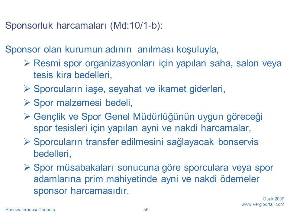Sponsorluk harcamaları (Md:10/1-b):