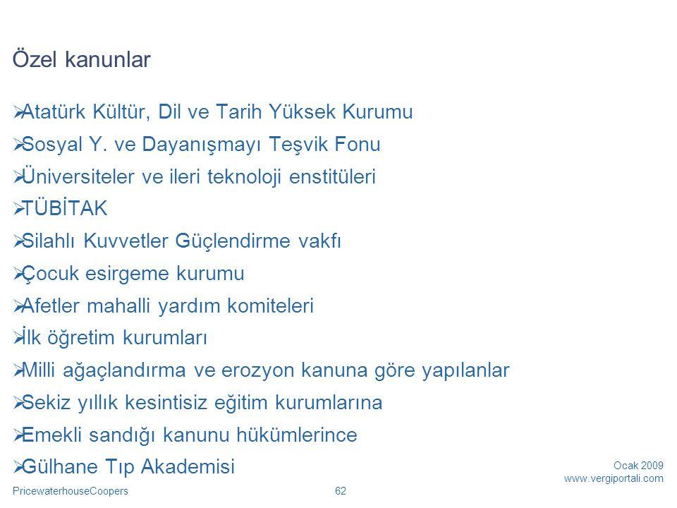 Özel kanunlar Atatürk Kültür, Dil ve Tarih Yüksek Kurumu