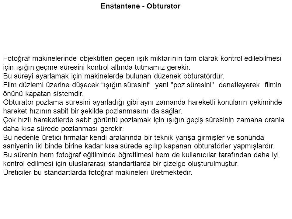 Enstantene - Obturator