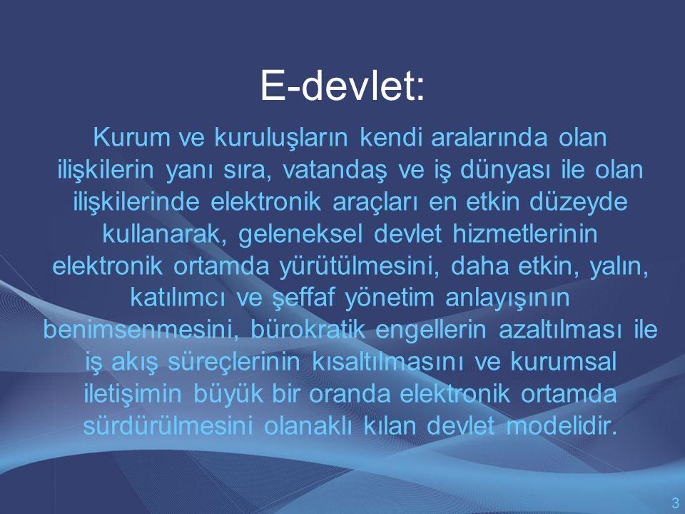 E-devlet: