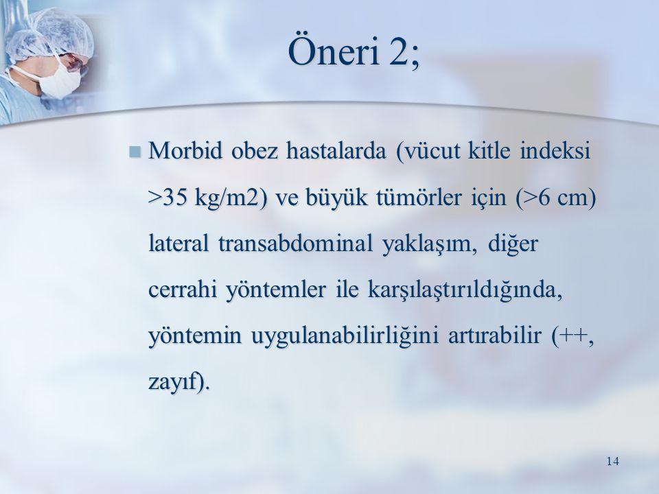 Öneri 2;