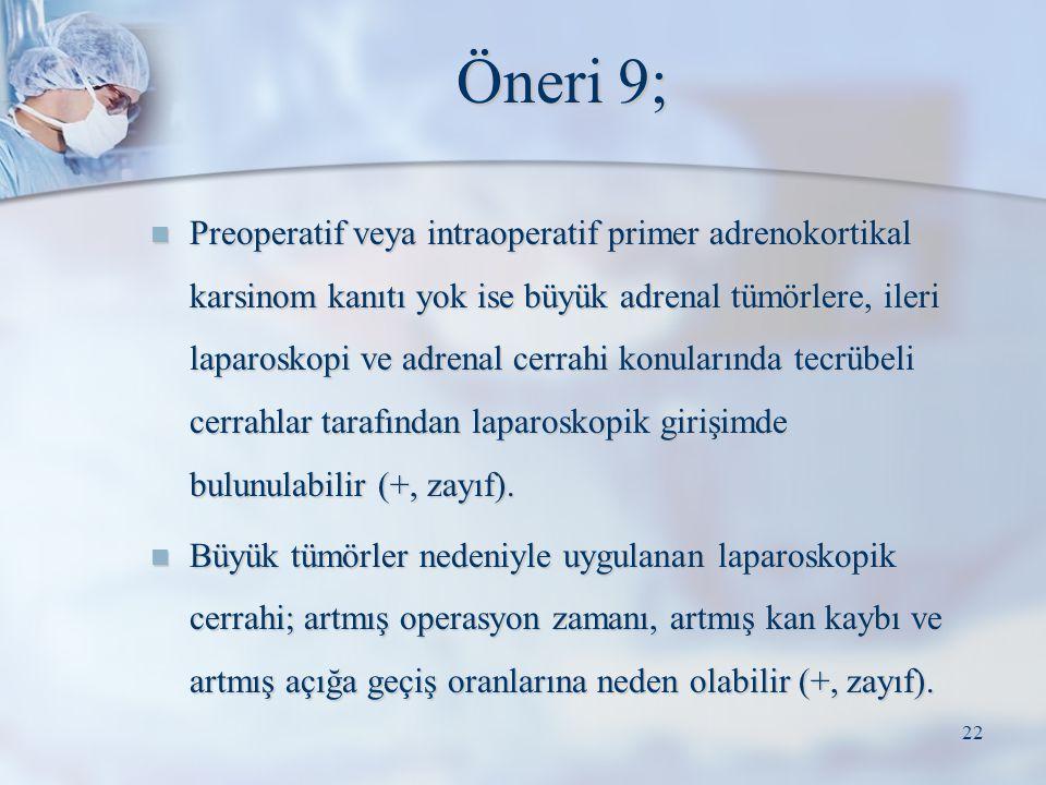 Öneri 9;