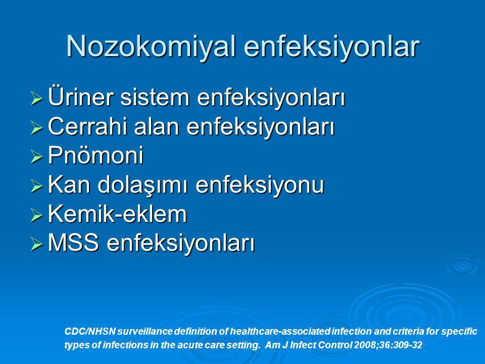 Nozokomiyal enfeksiyonlar