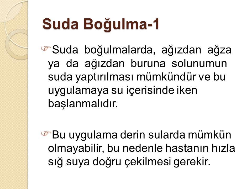 Suda Boğulma-1
