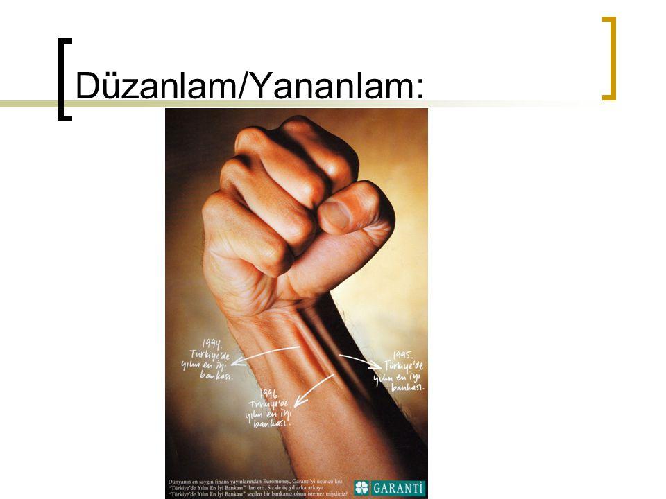 Düzanlam/Yananlam: