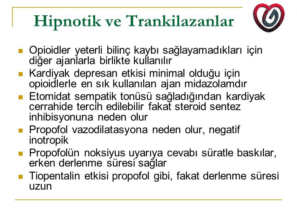 Hipnotik ve Trankilazanlar