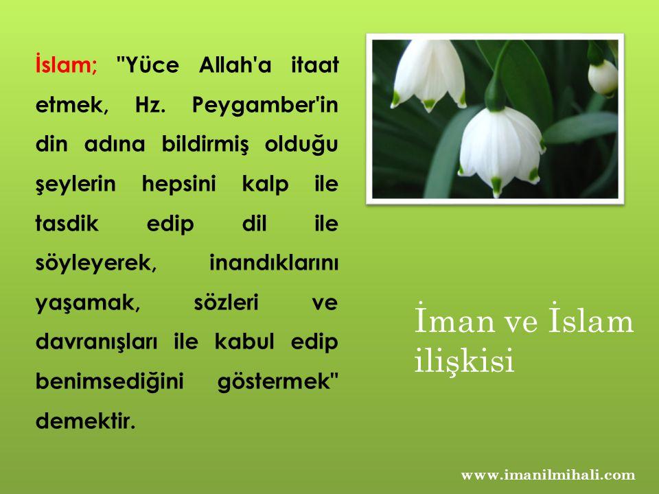 İslam; Yüce Allah a itaat etmek, Hz