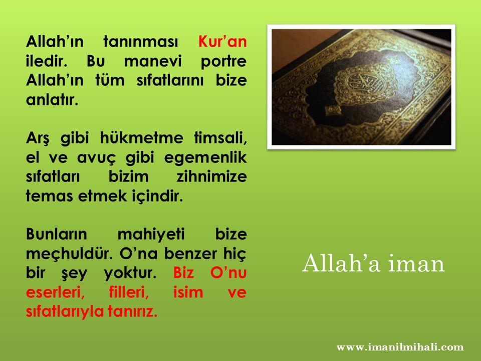 Allah'ın tanınması Kur'an iledir