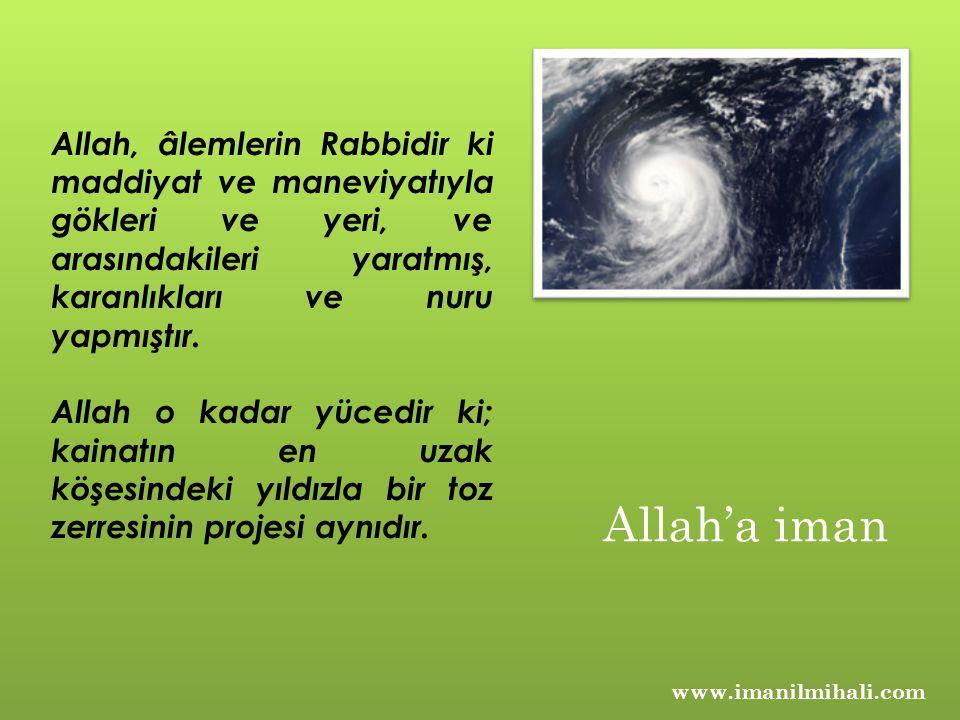 Allah, âlemlerin Rabbidir ki maddiyat ve maneviyatıyla gökleri ve yeri, ve arasındakileri yaratmış, karanlıkları ve nuru yapmıştır.