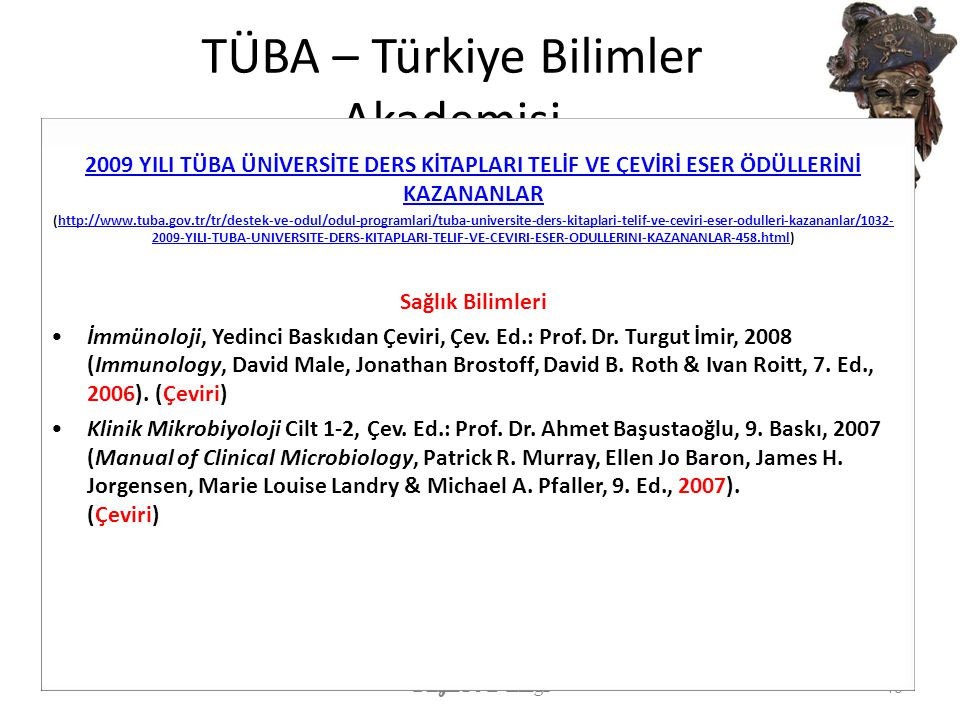 TÜBA – Türkiye Bilimler Akademisi