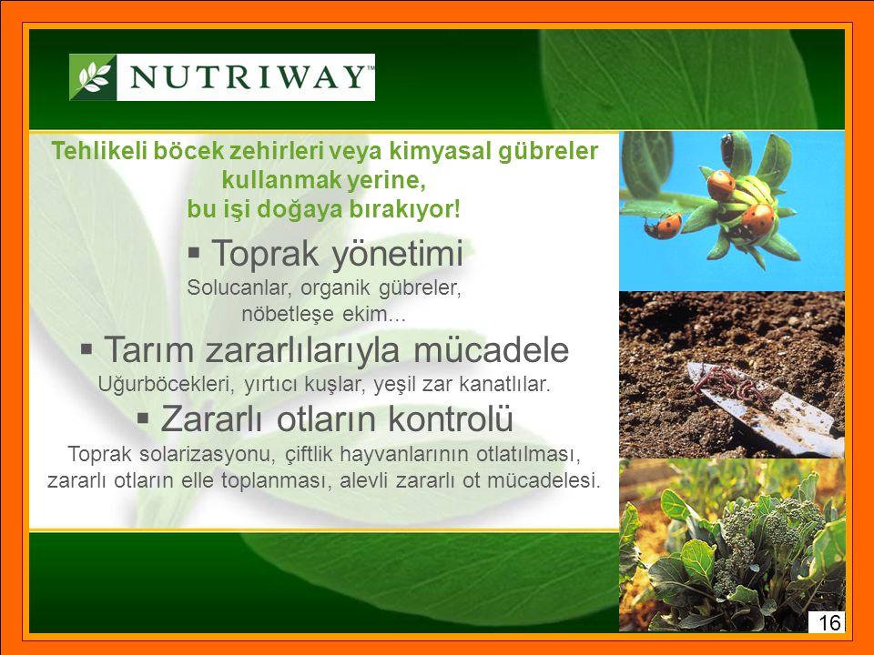 Tarım zararlılarıyla mücadele Zararlı otların kontrolü