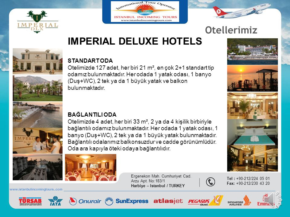 IMPERIAL DELUXE HOTELS