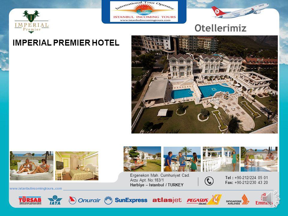 Otellerimiz IMPERIAL PREMIER HOTEL