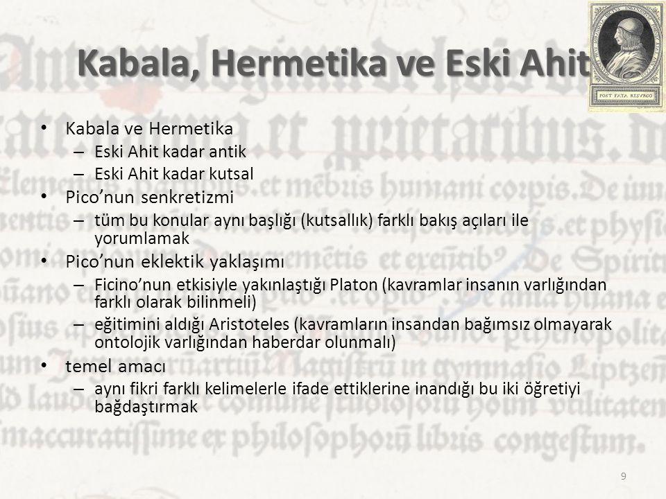 Kabala, Hermetika ve Eski Ahit
