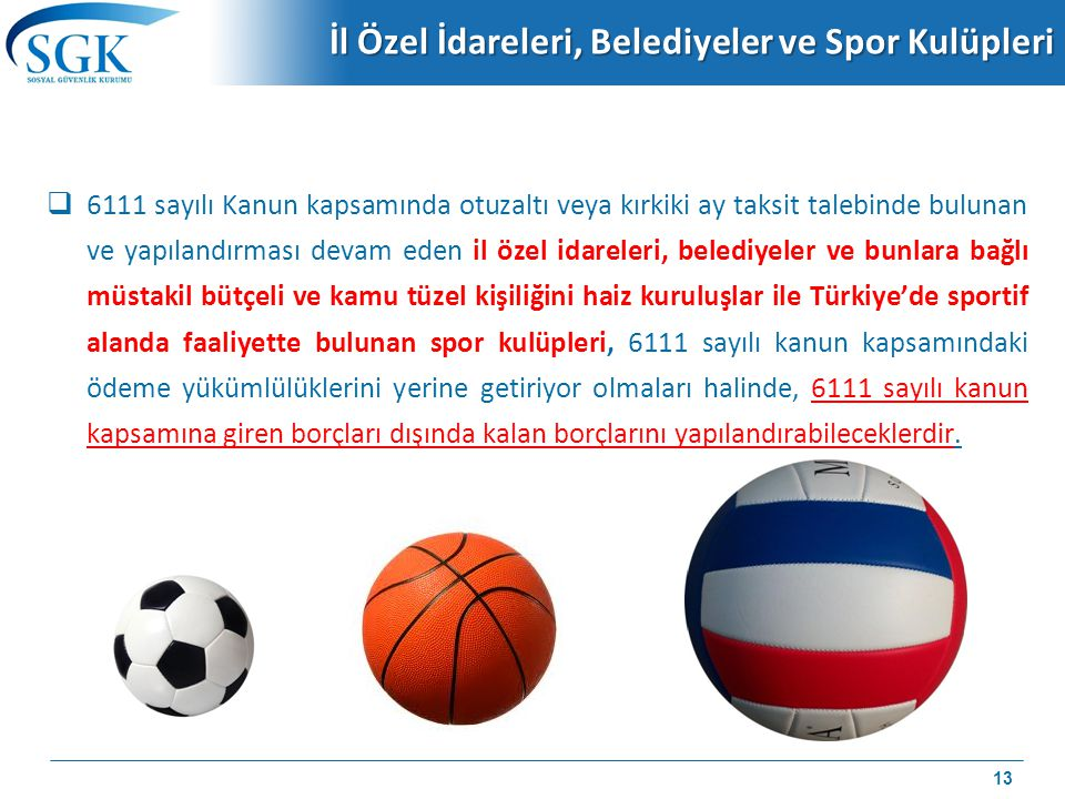 İl Özel İdareleri, Belediyeler ve Spor Kulüpleri