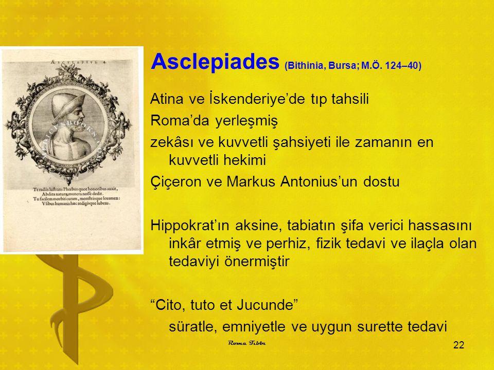 Asclepiades (Bithinia, Bursa; M.Ö. 124–40)