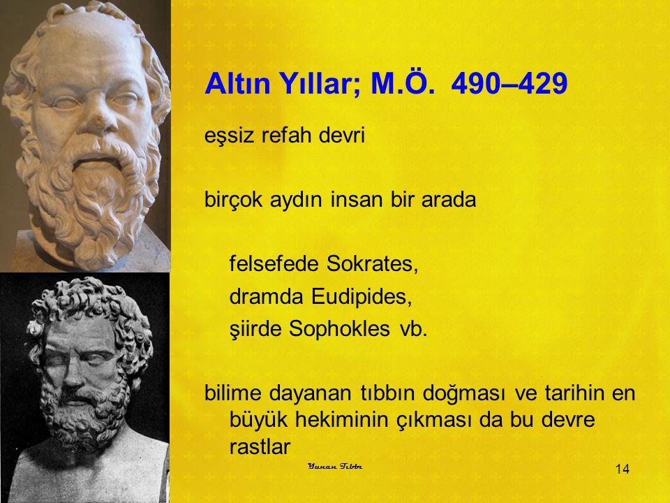 Altın Yıllar; M.Ö. 490–429