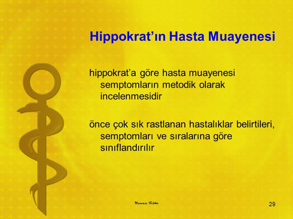Hippokrat'ın Hasta Muayenesi