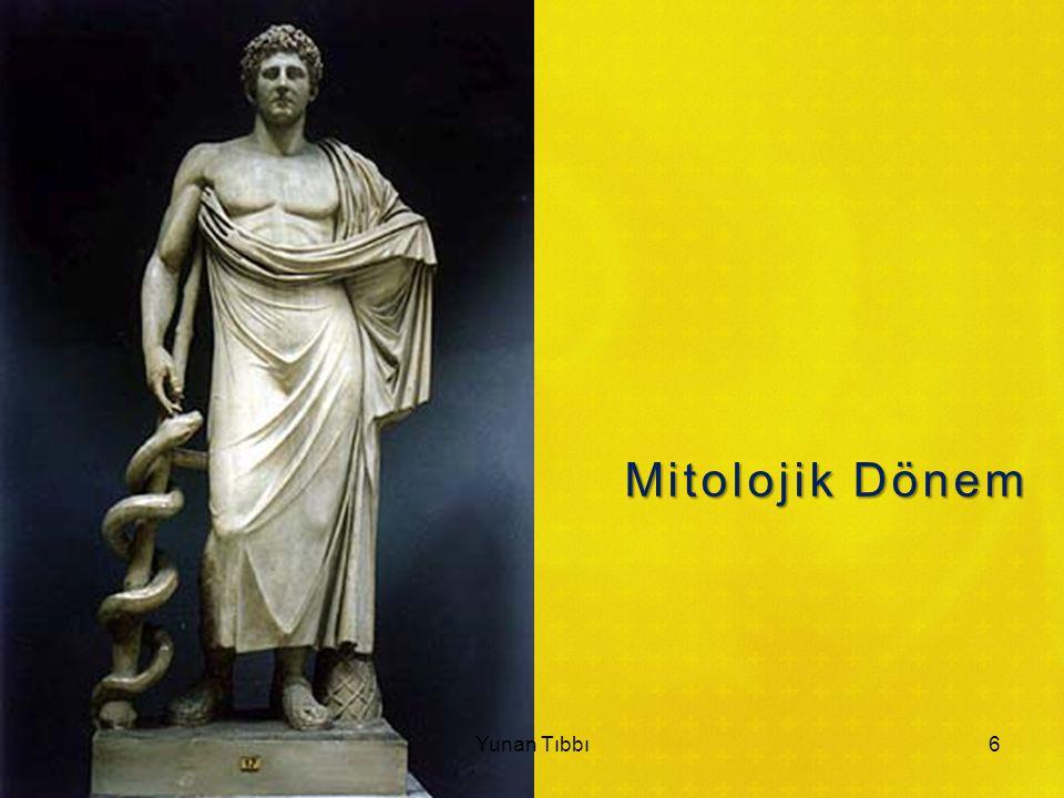 Mitolojik Dönem Yunan Tıbbı