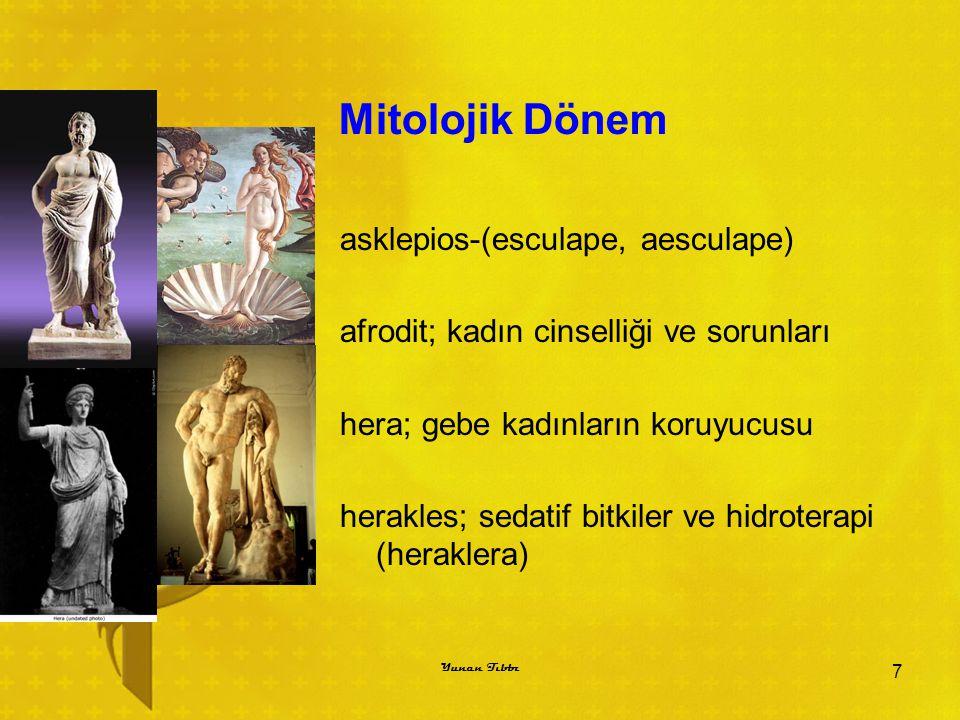 Mitolojik Dönem