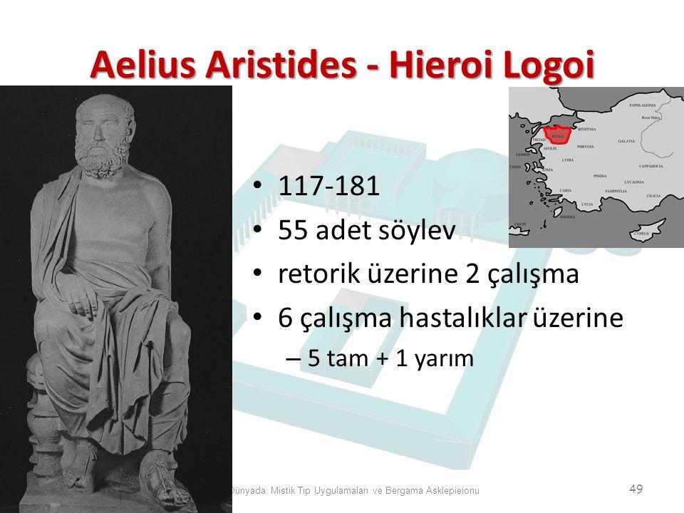 Aelius Aristides - Hieroi Logoi