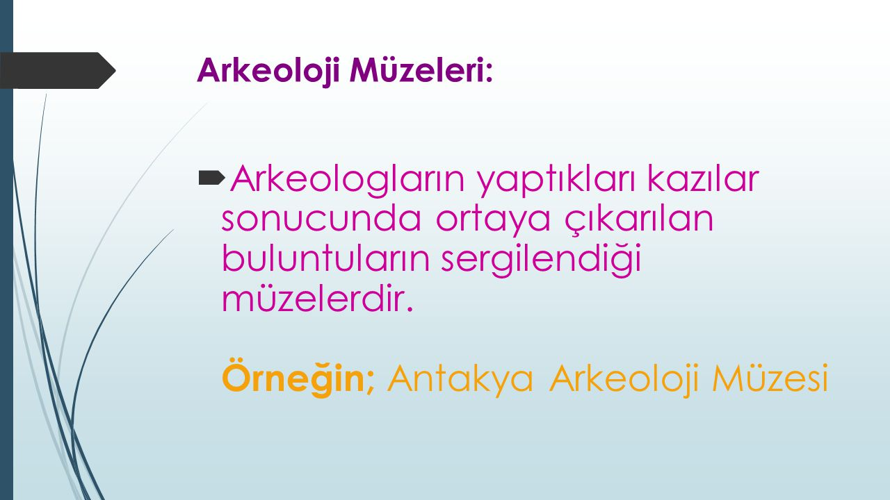 Arkeoloji Müzeleri: