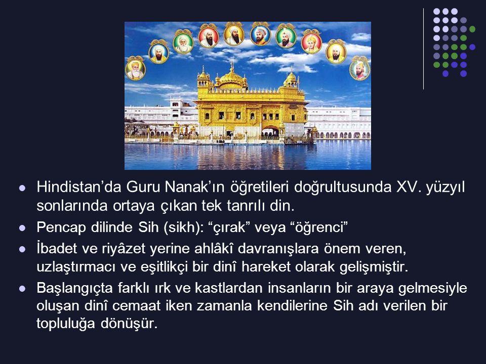 Hindistan'da Guru Nanak'ın öğretileri doğrultusunda XV
