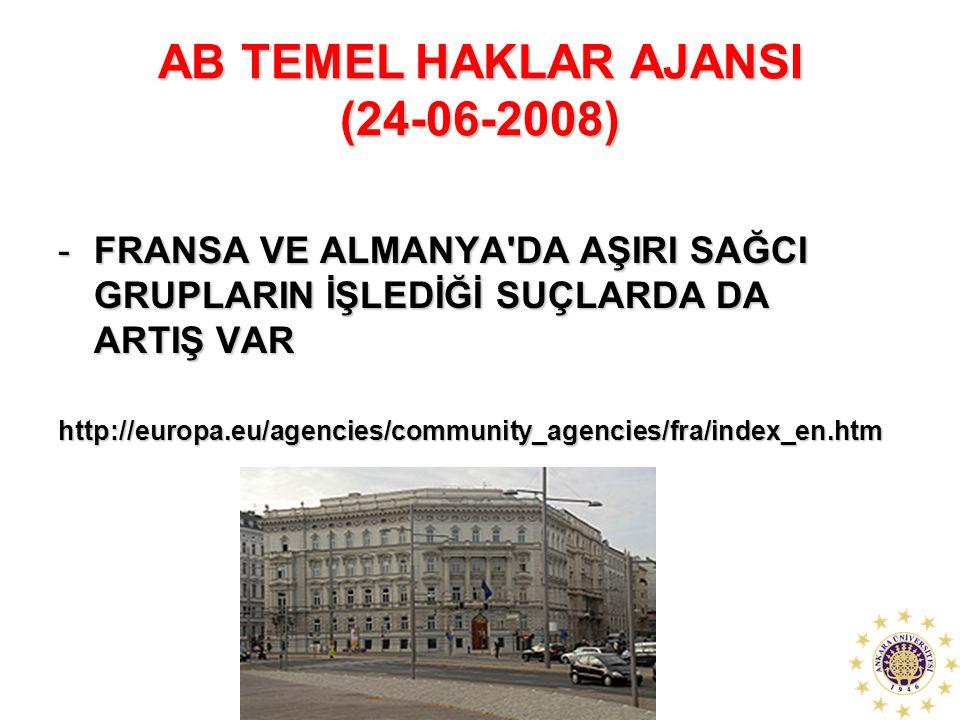 AB TEMEL HAKLAR AJANSI (24-06-2008)