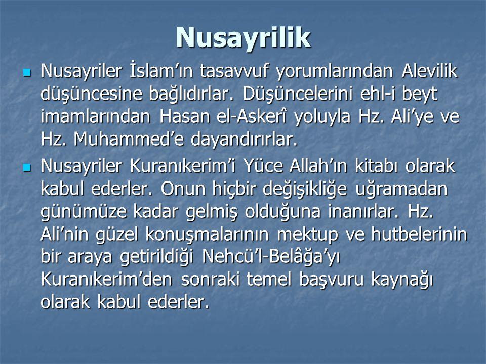 Nusayrilik