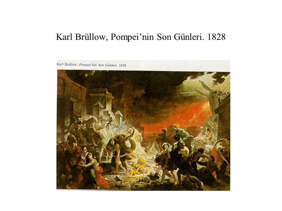 Karl Brüllow, Pompei'nin Son Günleri. 1828