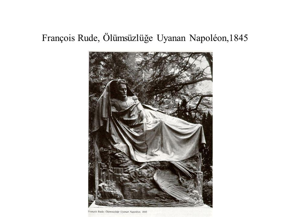 François Rude, Ölümsüzlüğe Uyanan Napoléon,1845
