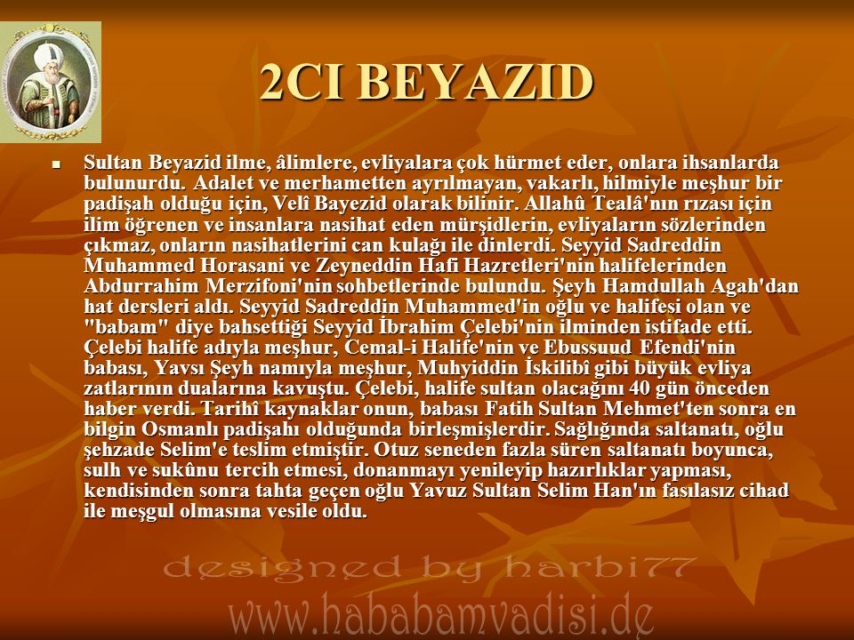 2CI BEYAZID designed by harbi77 www.hababamvadisi.de